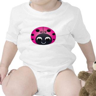 Little Pink Ladybug Baby Creeper