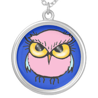 Little Pink Owl Necklace