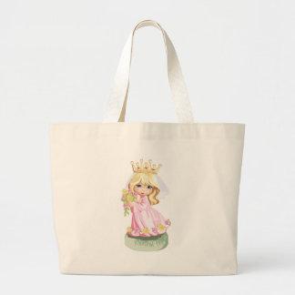 Little Pink Princess Tote Bag