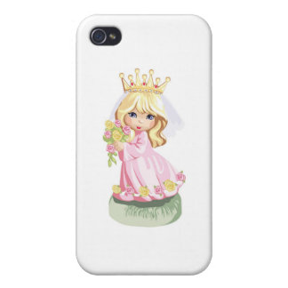 Little Pink Princess iPhone 4/4S Covers