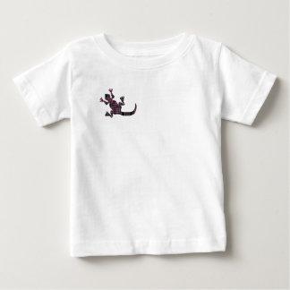little pink tartan gekko lizard baby T-Shirt
