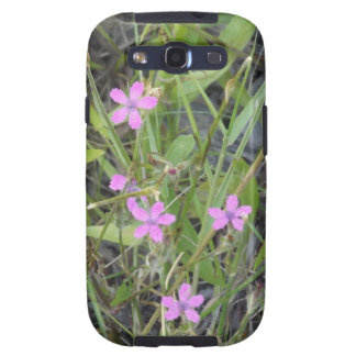 Little Pink Wildflowers Galaxy S3 Cases