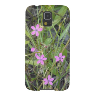 Little Pink Wildflowers Cases For Galaxy S5