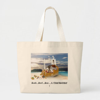 Little Pirate Rat Beach Tote
