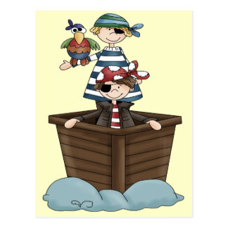 Little Pirates Postcard