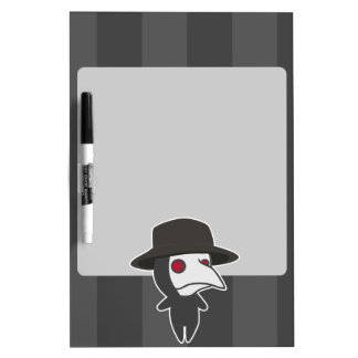 Little Plague Doctor Dry Erase Board