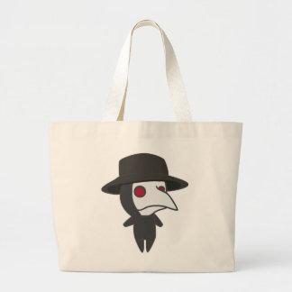 Little Plague Doctor Large Tote Bag