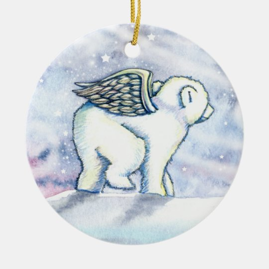 Little Polar Bear Cub Ornament
