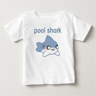 Little Pool Shark Kids T-shirts