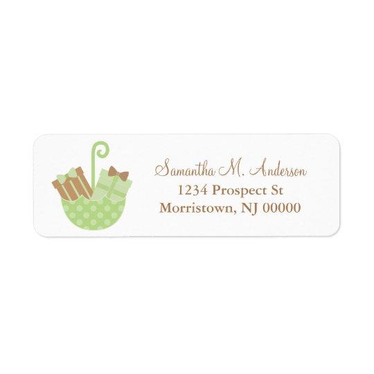 Little Presents Return Address Labels