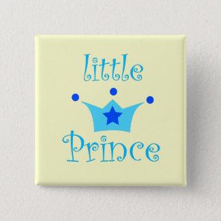 little prince 15 cm square badge