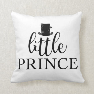 Little Prince Baby Boy Room Decor Throw Pillow