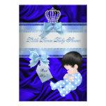 Little Prince Baby Shower Boy Royal Blue