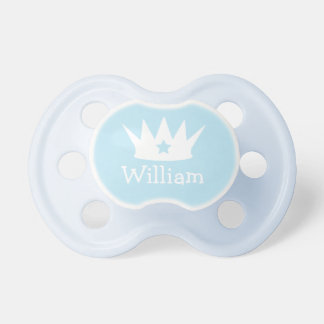 Little Prince | Custom Baby Blue Pacifier