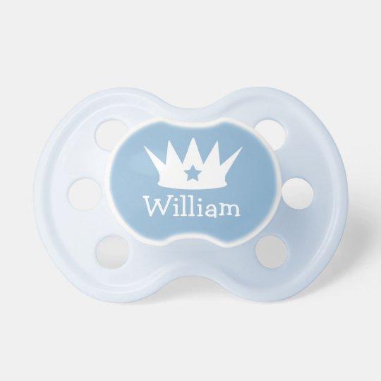 Little Prince | Custom Blue Baby Pacifier