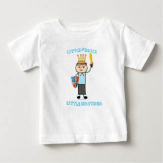 Little Prince Little Brother Baby T-Shirt