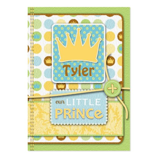 Little Prince Reminder Notecard Business Cards