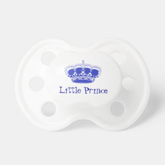 Little Prince Royal Baby Crown Baby Pacifiers