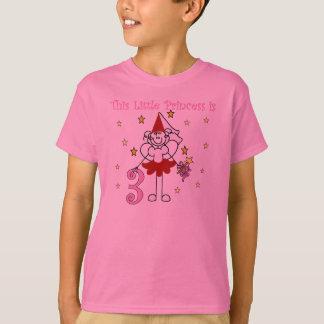 Little Princess 3rd Birthday T-Shirt