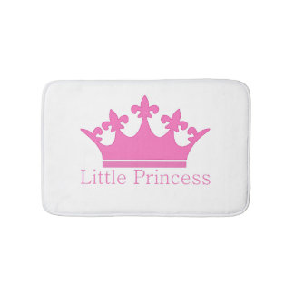 Little Princess - A Royal Baby Nursery Bath Mat