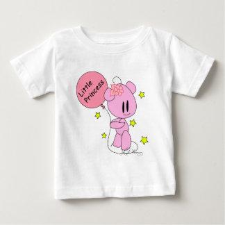 Little Princess Baby Girl Pink Teddy Bear T-Shirt