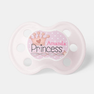 Little Princess Baby Pacifiers