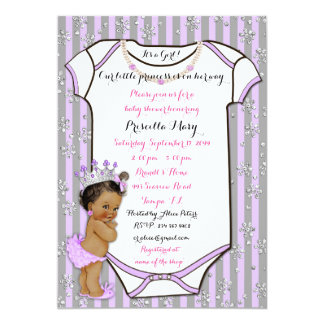 Little Princess Baby Shower Invitation,trendy,chic Card
