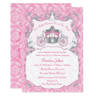 Little Princess Baby Shower Invitations