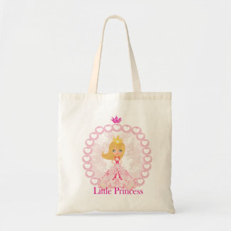 little Princess Budget Tote Canvas Bag