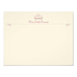 Little Princess Correspondence Cards 11 Cm X 14 Cm Invitation Card