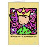 Little Princess Custom birthday card
