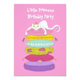 Little princess cute fun birthday party Invites