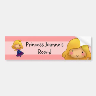 Little Princess Door sticker