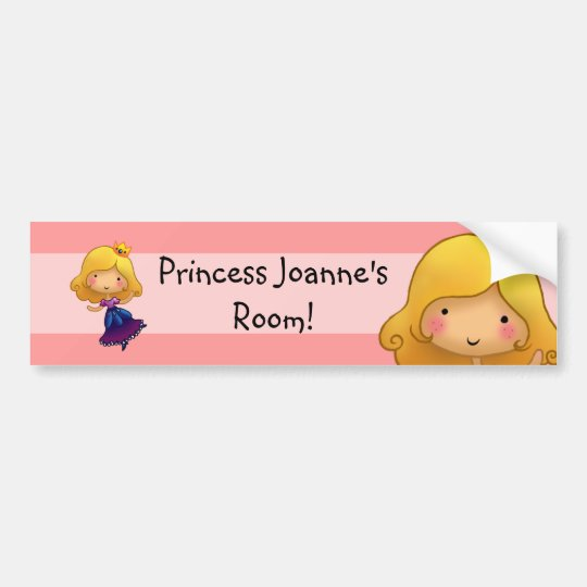 Little Princess Door sticker