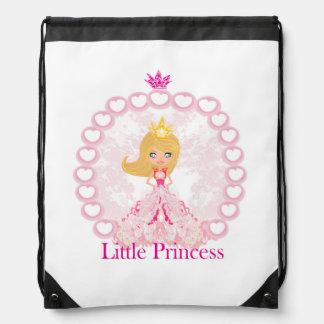 little Princess Drawstring Backpack