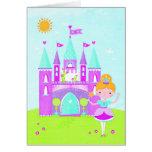 Little princess greeting card