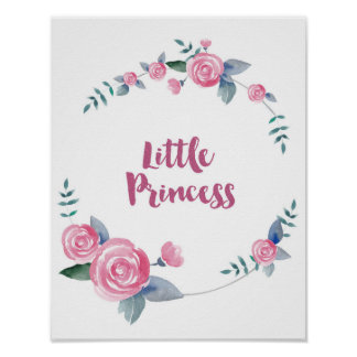 Little Princess Quote Poster