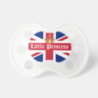 Little princess royal baby pacifiers