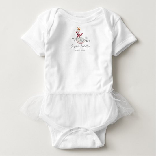 Little Princess Swan | Baby Girl | Bodysuit