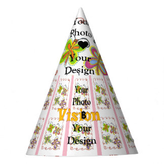 Little Princess Vision your design party time girl Party Hat