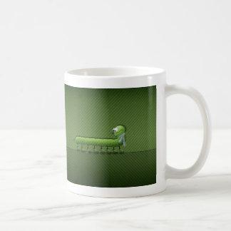 Little Problem (Green) Basic White Mug