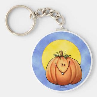 Little Pumpkin Basic Round Button Key Ring