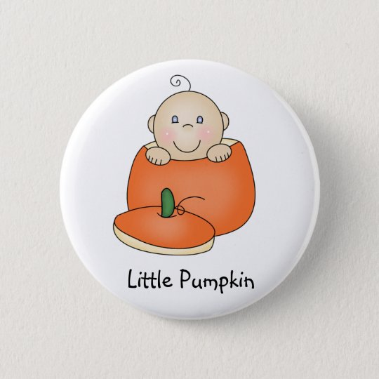 Little Pumpkin button