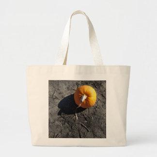 Little Pumpkin Large Tote Bag