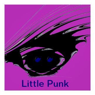 Little Punk Pink Poster