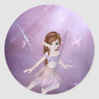 Little Purple Fairy Stickers