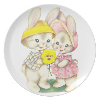 Little rabbits plate