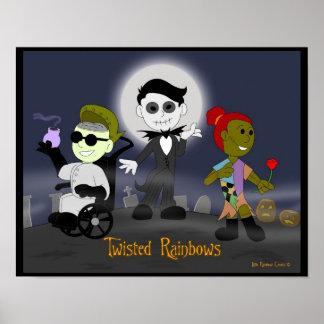 Little Rainbow Comics Twisted Rainbows Posters