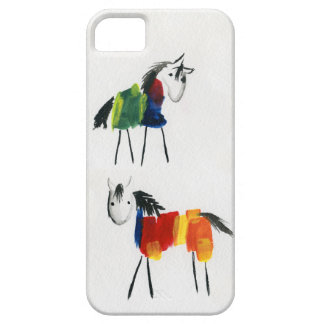 Little Rainbow Ponies Barely There iPhone 5 Case
