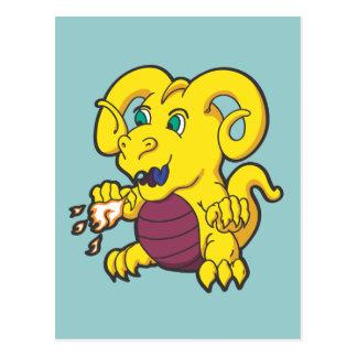Little Ram Horned Dragon Postcard
